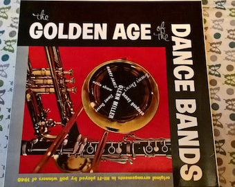 The Golden Age Of The Dance Bands LP vgc 1957 PYE GGL 0004 33 rpm