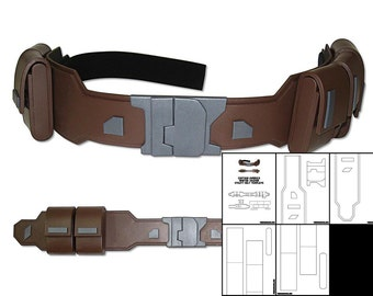 Template for Captain America Winter Soldier Utility Belt