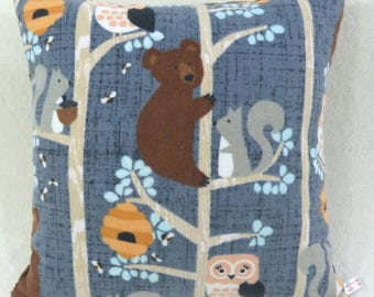 Cutest Woodland Creatures in the Trees Pillow