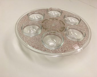 A Lovely  and elegant  Seder Passover Plate.
