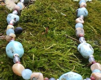 Luscious Larimar Necklace