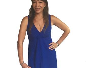 Yoga Tank Top, Tunic, festival clothing top - VENUS TUNIC - stretch, dance wear
