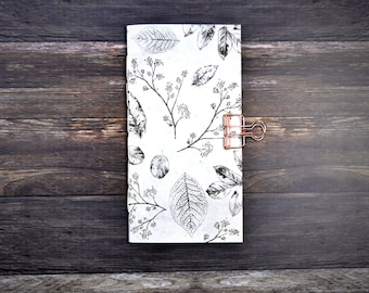 Travelers Notebook Insert with Foliage -  Midori Insert - TN Insert - Planning Insert  - Art Insert - Various Sizes - Bullet Journal