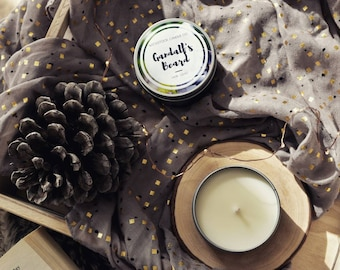 Gandalfs Beard 4oz Soy Candle | Lord of the Rings Inspired Bookish Candle