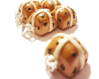 Stitch markers, progress keepers, hot cross buns, for knitting and crochet projects