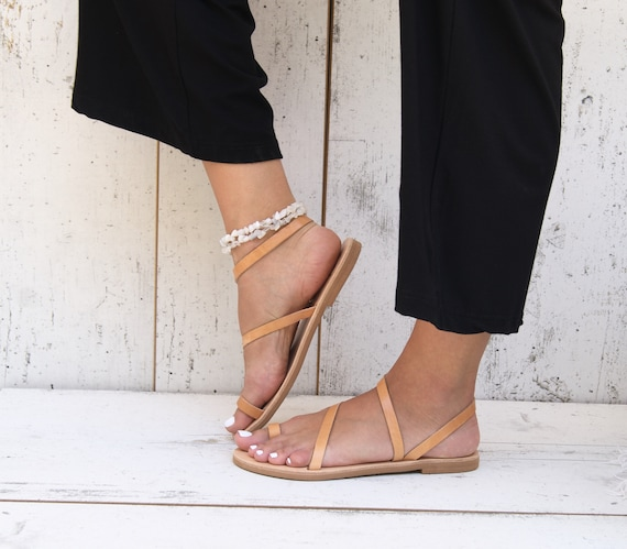 Greek sandals ancient strappy sandals leather handmade sandals sandals ALESSA toe sandals sandals natural leather ring classic 5zFdwnzxa
