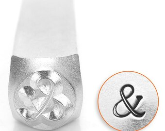 Metal Design Stamp By Impressart 6mm Ampersand (And Symbol)