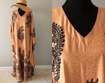 Plus size black high quality unisex uzbek colorful pure natural silk handmade embroidery jacket chapan elegant kaftan coat suzani style 593 WxohiGCzD