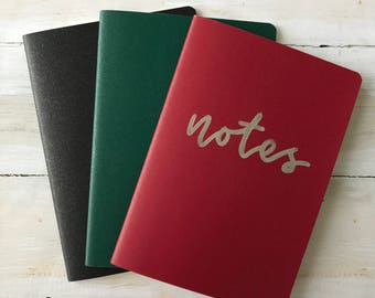 Personalized Mini Notebooks