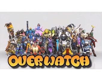 Overwatch Custom Decoden Case