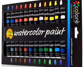 High Quality Watercolor Paint Kit ,24 Colors.Adults painting