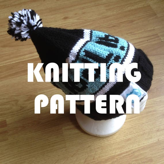 Pattern How To Knit Your Own Bobble Hat Or Sporty Bobble Hat From