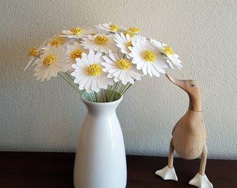 Paper Daisy Bouquet - 30 stems