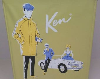 Vintage Ken Doll w/Case and Accessories