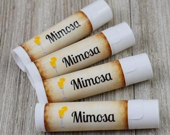 Mimosa Flavored Lip Balm - Handmade All Natural Lip Balm