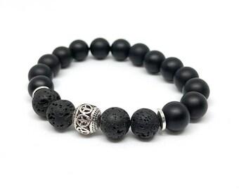 Peace Diffuser Bracelets | Beaded Stretch Bracelet | Mala Bracelet | Energy Bracelet | Meditation Bracelet | Yoga Bracelet | Aromatherapy