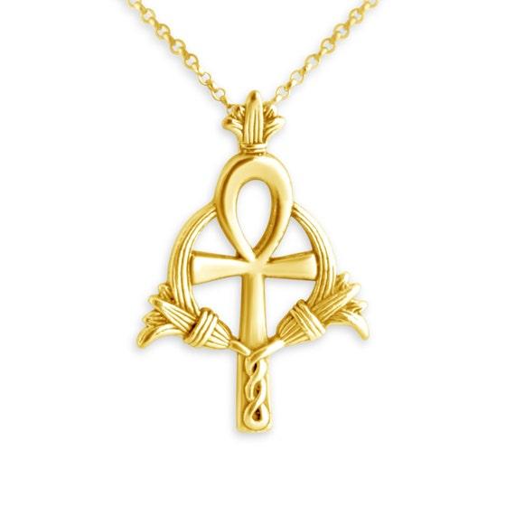 Egyptian Ankh Ancient Cross Religious Symbol Of Eternal Life