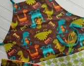 Kids-Aprons-Dinosaurs-Che...
