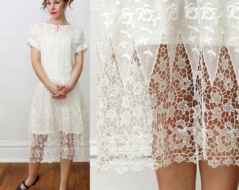 Gorgeous 1920s Lace Dress