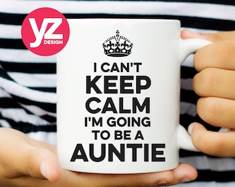 I'm going to be a Auntie Mug Cup | New Aunt Mug | Aunt Mug | Best Aunt Gift | Auntie Cup | Aunt Mug | Popular Aunt Cup | Funny Coffee Mug