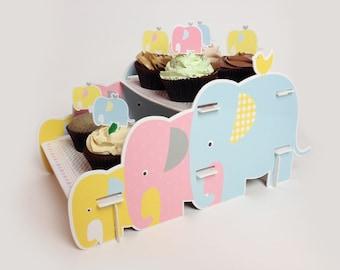 Elephant Parade Cake Stand
