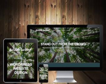 Custom Website, Blog, Ecommerce Web Design
