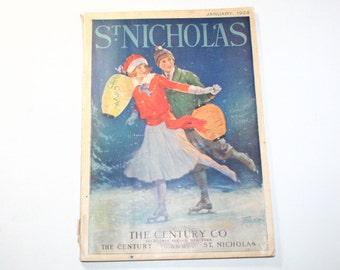 Antique Magazine - St Nicholas January 1924