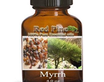 Myrrh Essential Oil - Commiphora myrrha - 100% Pure Therapeutic Grade
