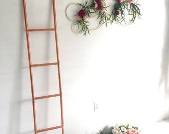 Copper Ladder - Copper Decor -