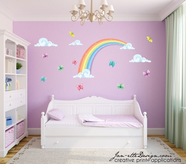 Children's Wall Stickers. Girls Wall Stickers