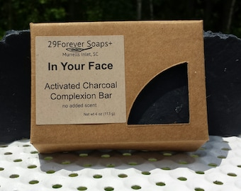 Activated Charcoal Soap - Activated Charcoal Facial Soap - Activated Charcoal Mask