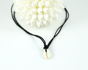 Cowrie Shell Necklace--Cowrie Shell Choker