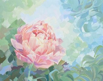 Single Flower *original painting*