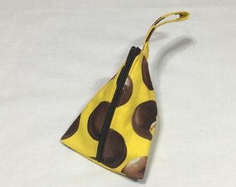 Choco Mallow Small Zippered Bag