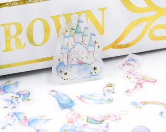 Set of 48 stickers enchantment