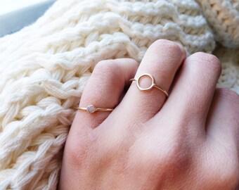 Tiny Donut Ring
