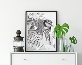 Fine Art Print Graphite Sketch Drawing--A Dream Within a Dream in The Breakthrough Series (6 of 8)