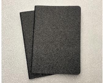 Black Glitter Sketchbook