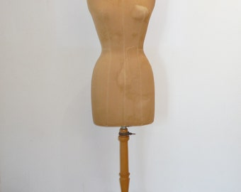 French tailors mannequin / bust / Dress form From STOCKMAN  Paris Haute Couture 50s