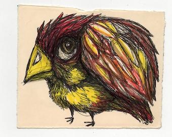 Bird Drawing #9