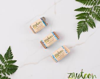 Musk Mini Soap Sampler -- Try 3 mini 2oz Soaps -- Variety Pack -- Moroccan Musk, Musk Flower and Oriental Musk