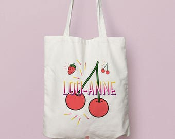 Bag or pouch - cherry