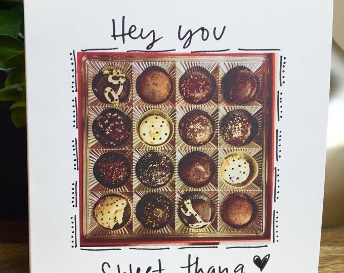 Life is like a box of chocolates card, First anniversary card for wife, husband anniversary card, first anniversary, i love you card, sweet