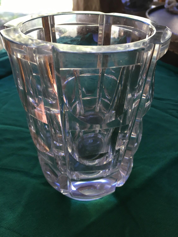 Crystal vase lead crystal vase home decor crystal vase zoom floridaeventfo Image collections