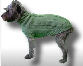 Ribbed Dog Sweater Pattern