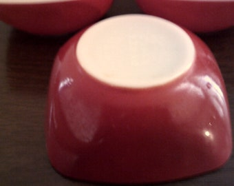 pyrex bowls 3 in lot vintage like new 410 12oz ovenware