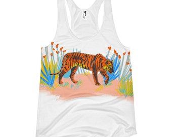 Year of the TigerWomen's racerback tank