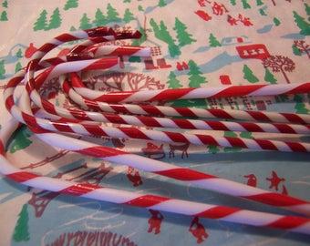 six fun plastic candy canes