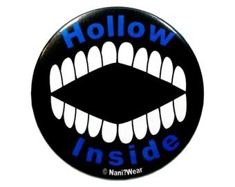 Bleach Anime 2-Inch Button (Hollow Inside)