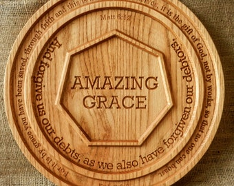 Amazing Grace wall plaque (with Free Shipping)